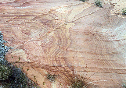 colored sandstone